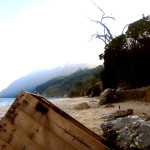 Ancona Portonovo Beach Wooden Box